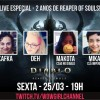 Live no Aniversário de Reaper of Souls!