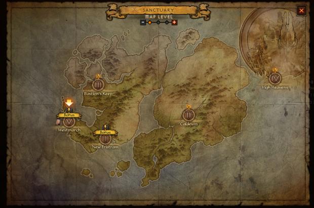 Diablo III - Caçadas