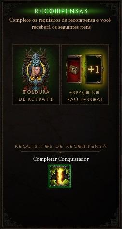 Recompensa Conquistador